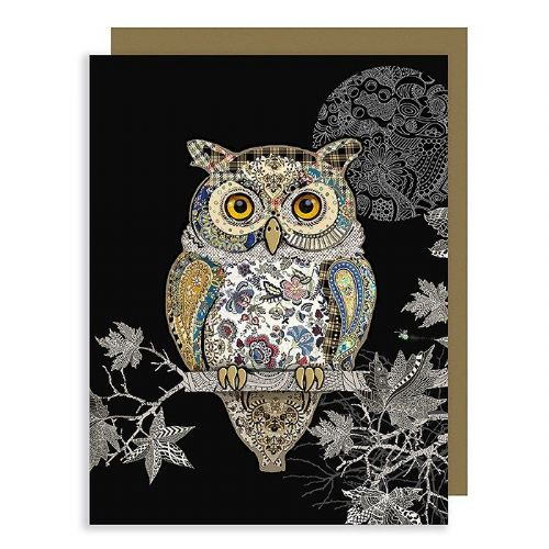 Bug Art Collection Owl Mini Gift Card